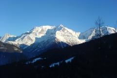 Sortie de ski à Saint-Gervais 2007